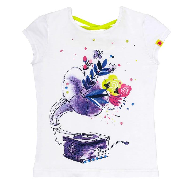 T-Shirt Fleuris 7-10