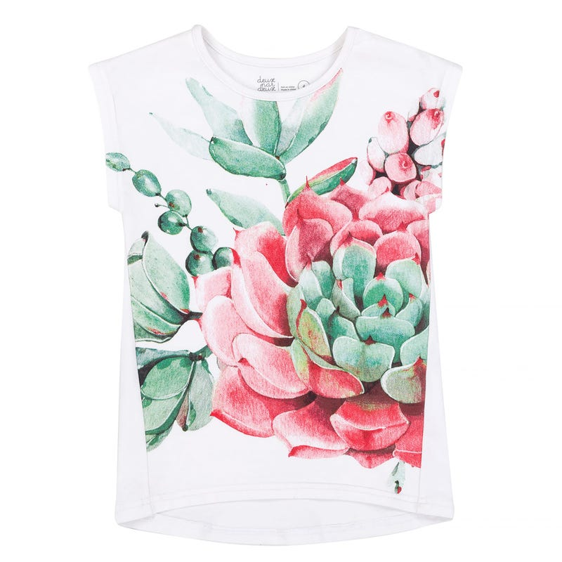 T-Shirt Long Cactus 3-6ans