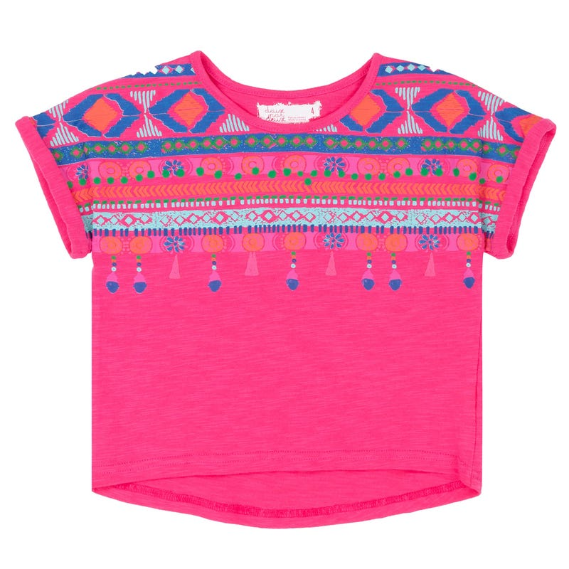 Coco Palms High-Low T-Shirt7-10y