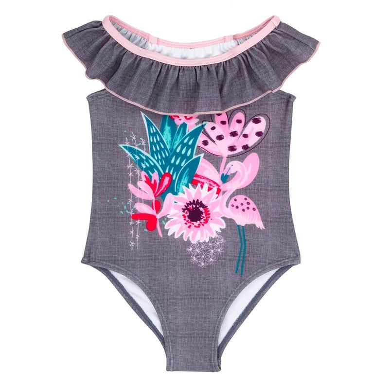 Cactus Flowers Swimsuit 8-14y