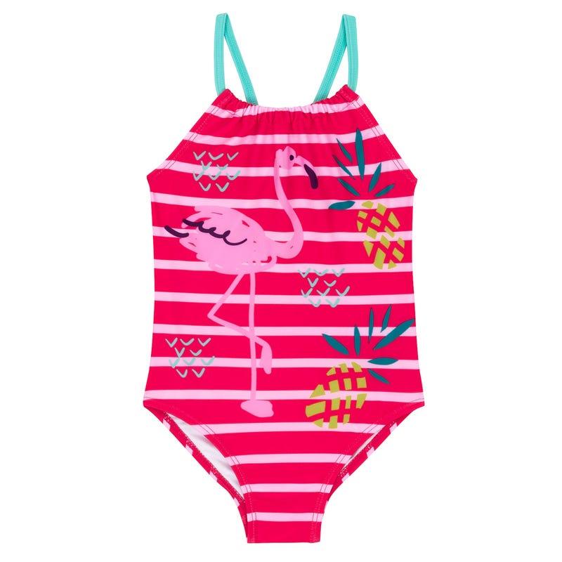 Flamingo Swimsuit 2-7y