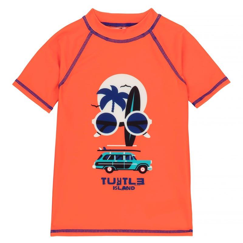 T-Shirt Maillot Tortue 2-7
