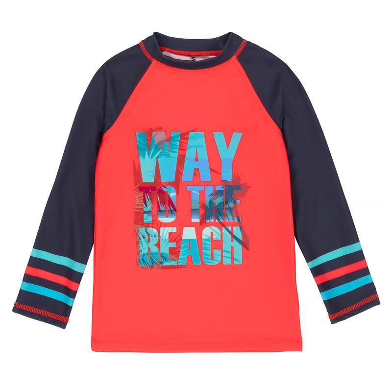 T-Shirt Maillot M/L Plage 2-7