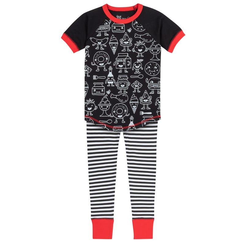 Foodie Pajama Set 3-10y