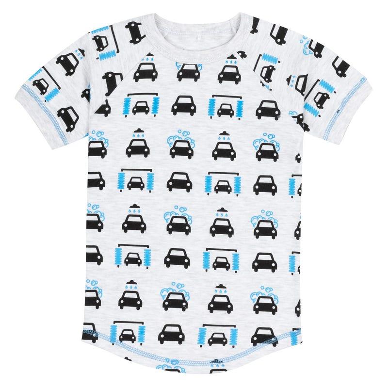 Pyjama Court Lave Auto 3-10ans