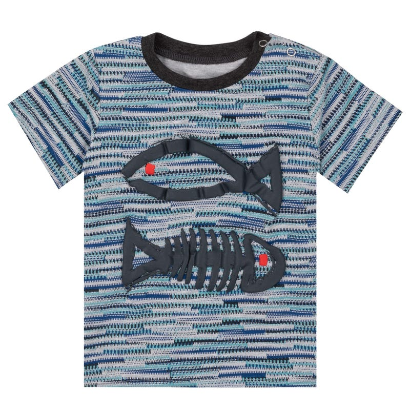 Sailor Fish T-Shirt 3-6y
