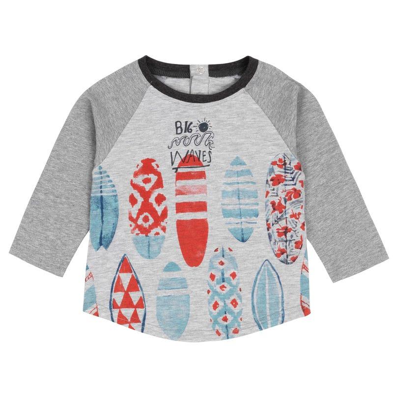 T-Shirt à Manches Longues Matelots 3-6ans