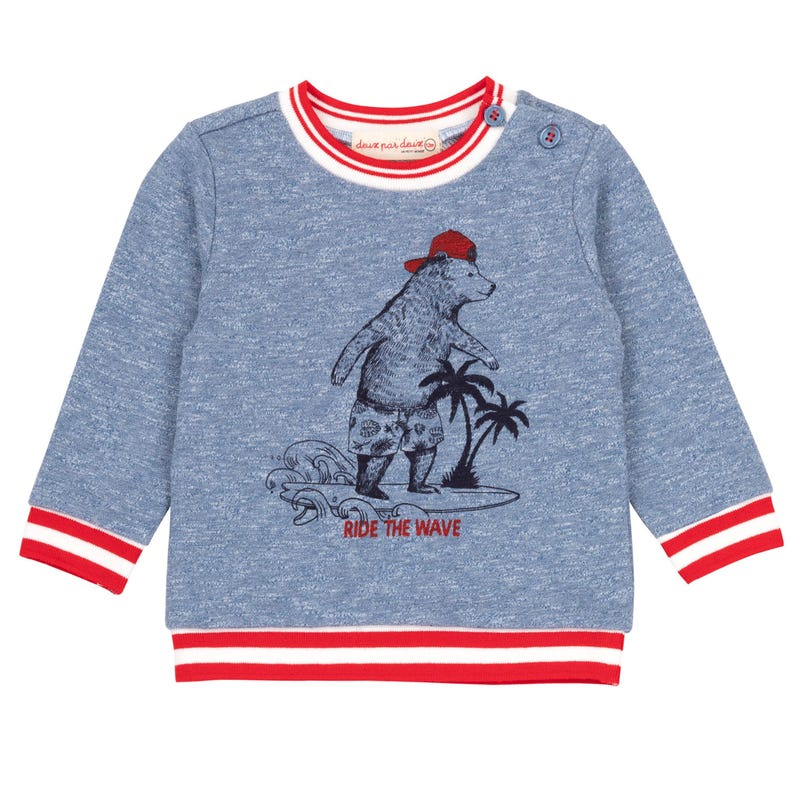 Sailor French Terry Top 12-24m