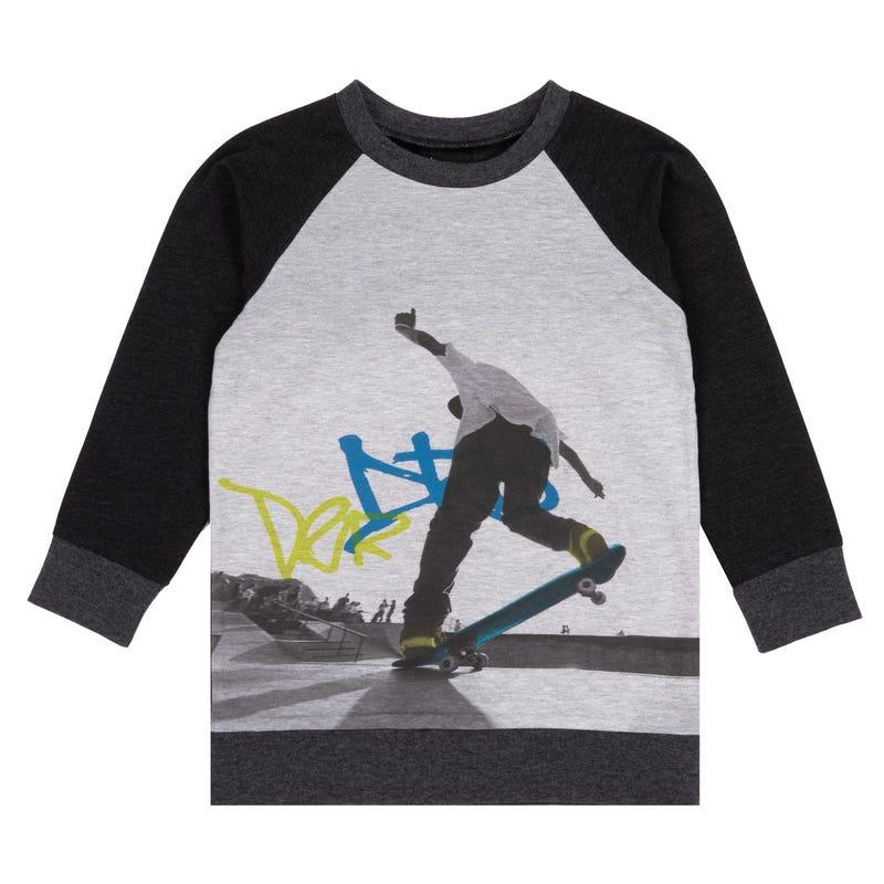 T-Shirt à Manches Longues Oh Boy 3-6ans