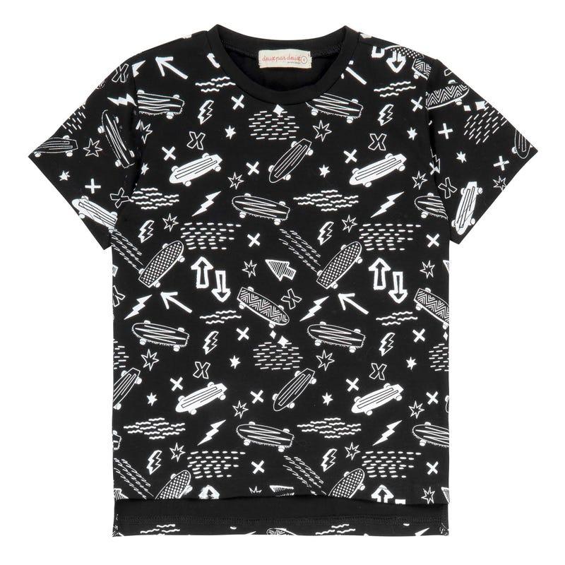 Oh Boy Skate T-Shirt 3-6y