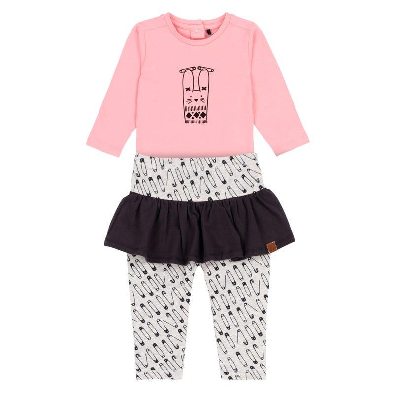 Baby Pin 2pcs Skirt Set 12-24m