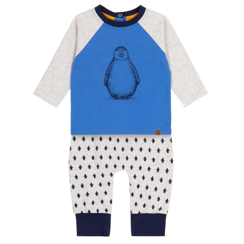 Penguin Pant Set 12-24m
