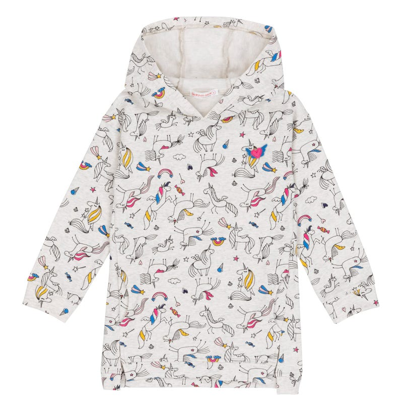 Unicorn Hooded Tunic 3-6y