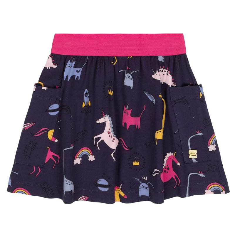 Unicorn Skirt 3-6y