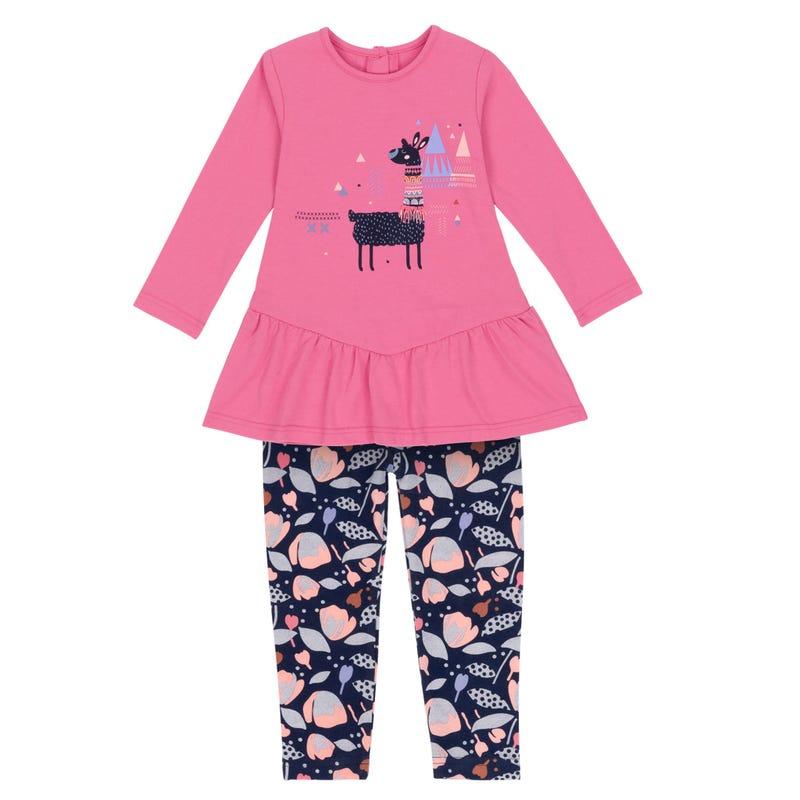Llama Tunic Set 12-24m