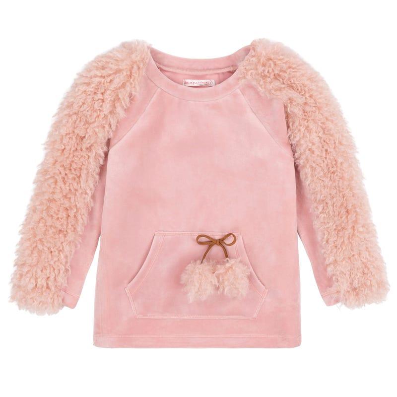 Llama Velour Sweater 3-6y
