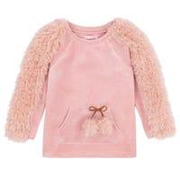 Llama Velour Sweater 7-10y