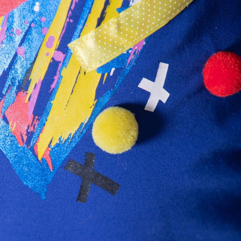 T-Shirt à Manches Longues Pompon 3-6ans