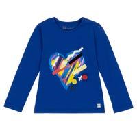 Pompom Long Sleeves T-Shirt 7-10y