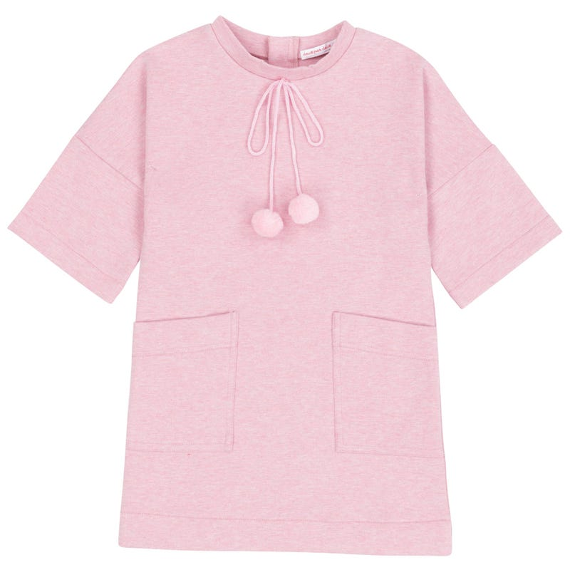 Birds Pocket Dress 3-6y