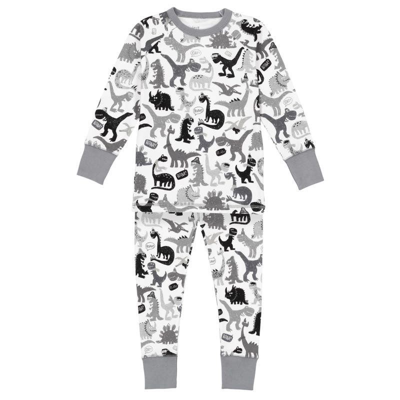 Pyjama Dinos Gris 3-10ans