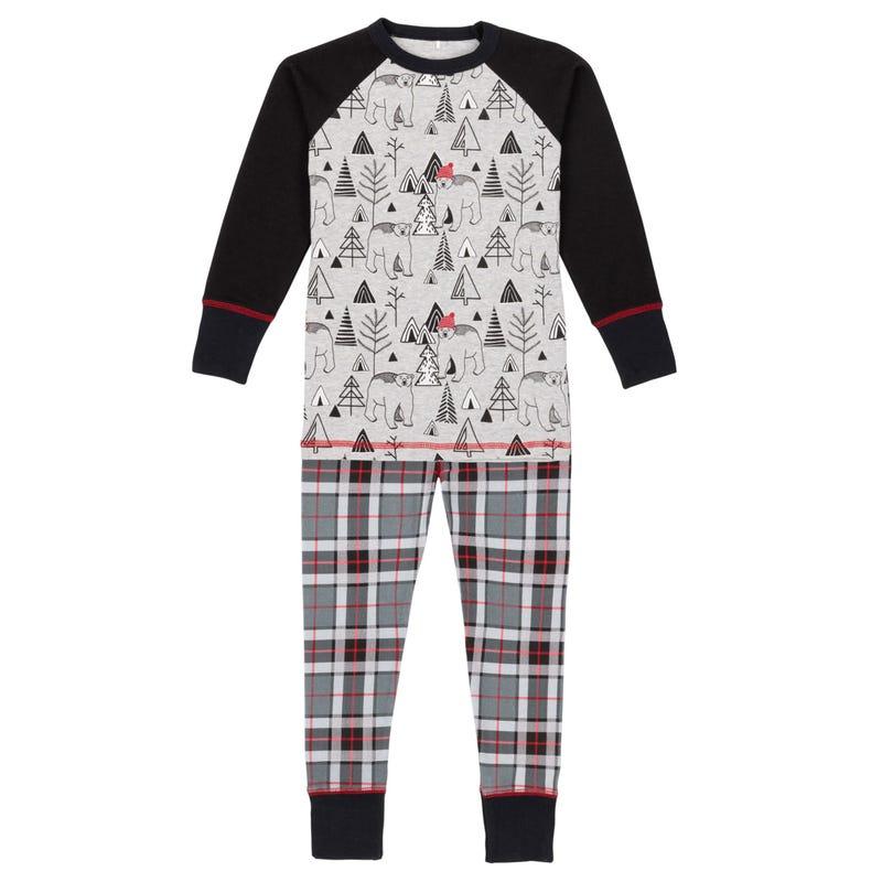 Christmas Bear pajamas Set 3-10y
