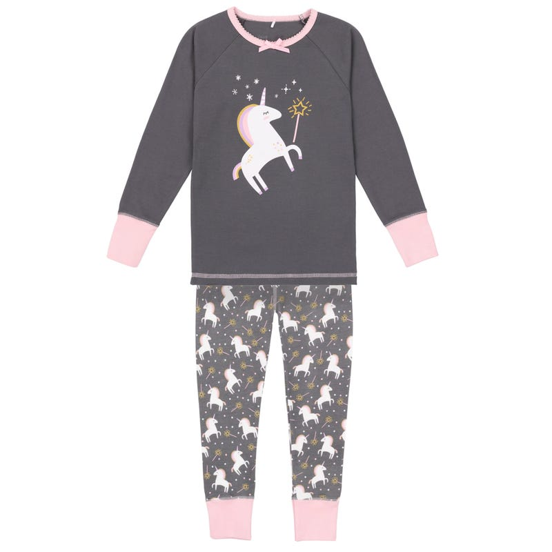 Unicorn pajamas Set 3-10y