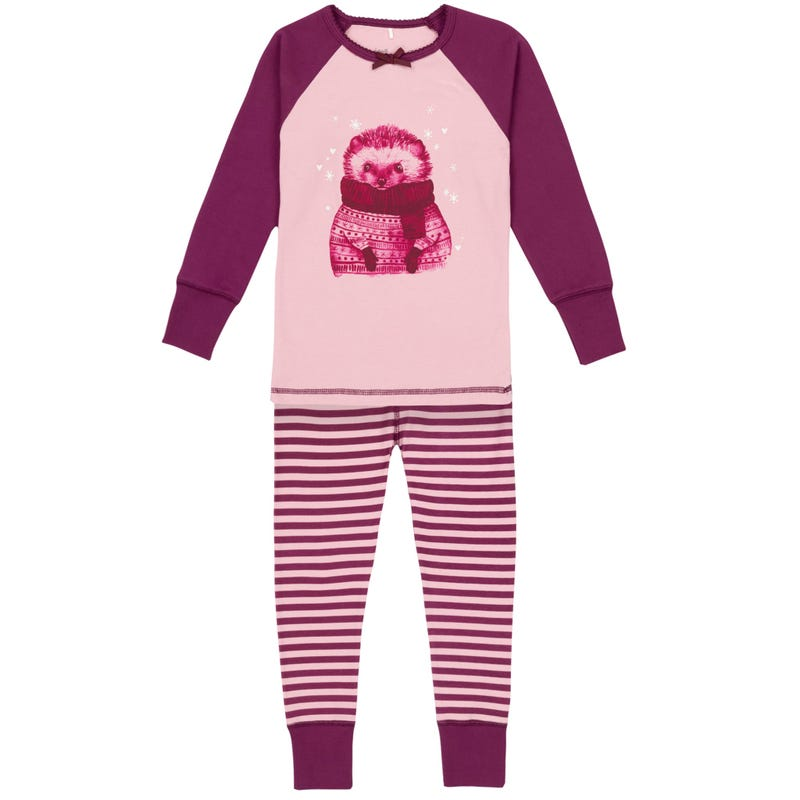 Hedgehog pajamas Set 3-10y