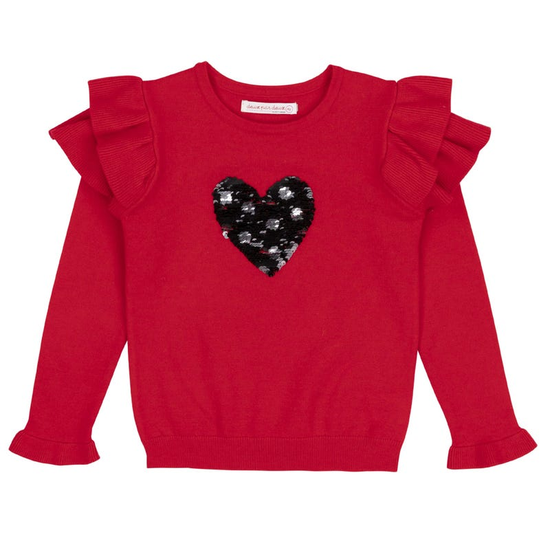 Chalet Sequins Sweater 3-6y