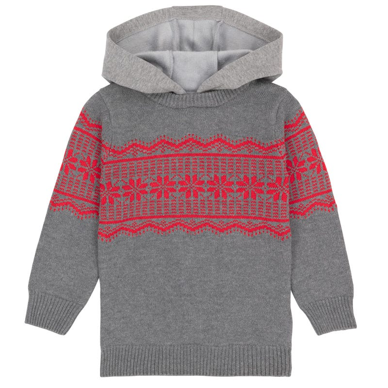 Chalet Hooded Sweater 3-6y