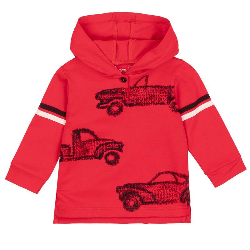 Racing Hooded T-Shirt 12-24m