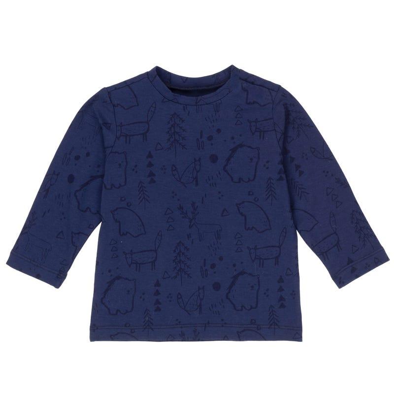 T-Shirt à Manches Longues Renard 3-6ans