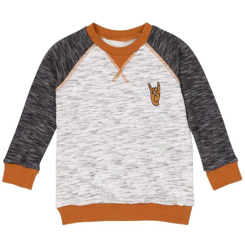 Little Man Sweatshirt 7-12