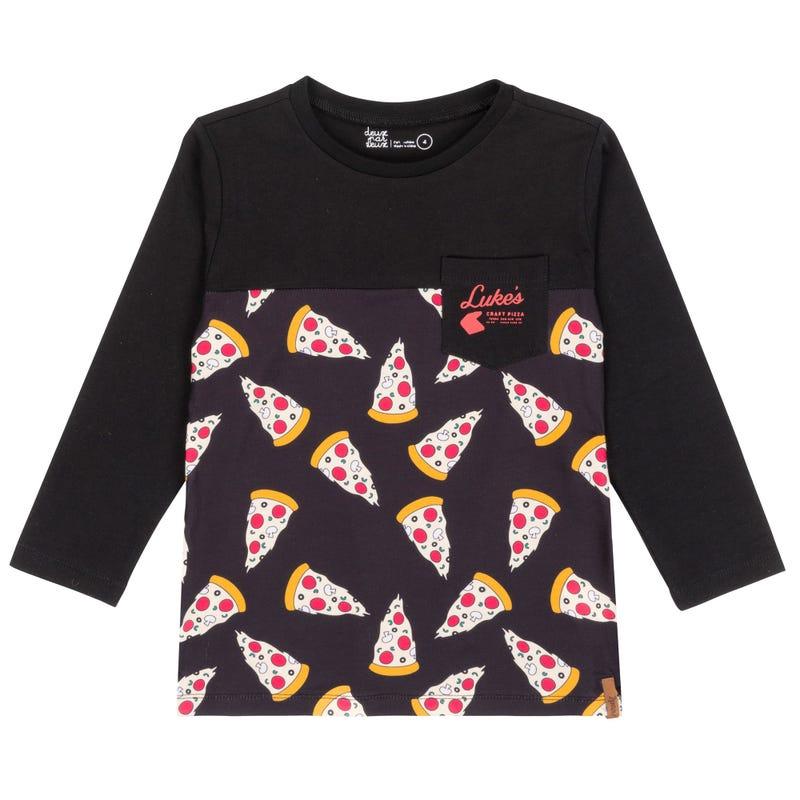 T-Shirt à Manches Longues Petit Homme 3-6ans