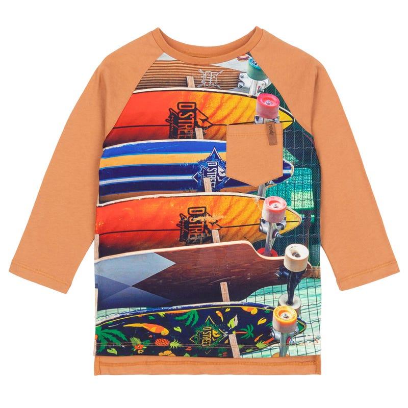 T-Shirt à Manches Longues Auto Petit Homme 3-6ans