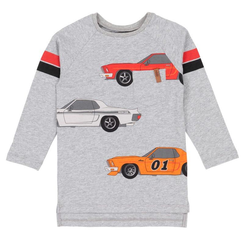 T-shirt Auto Petit Homme 7-12