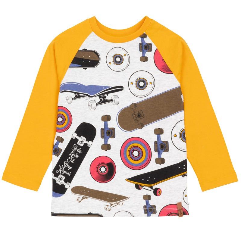 Little Man Skate T-shirt 7-12