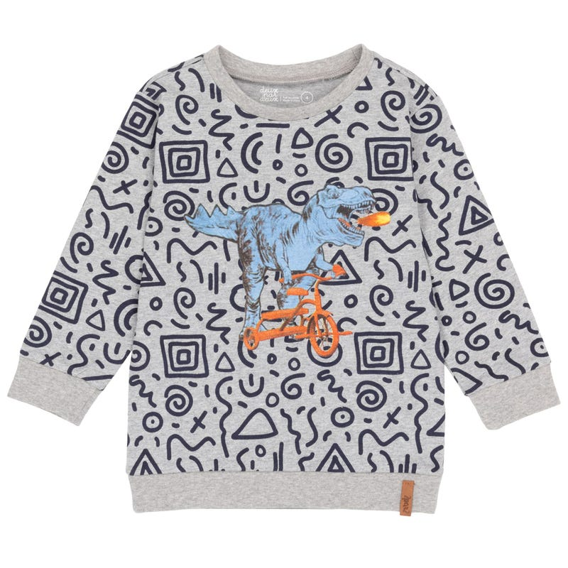 Little Man Dino T-shirt 7-12