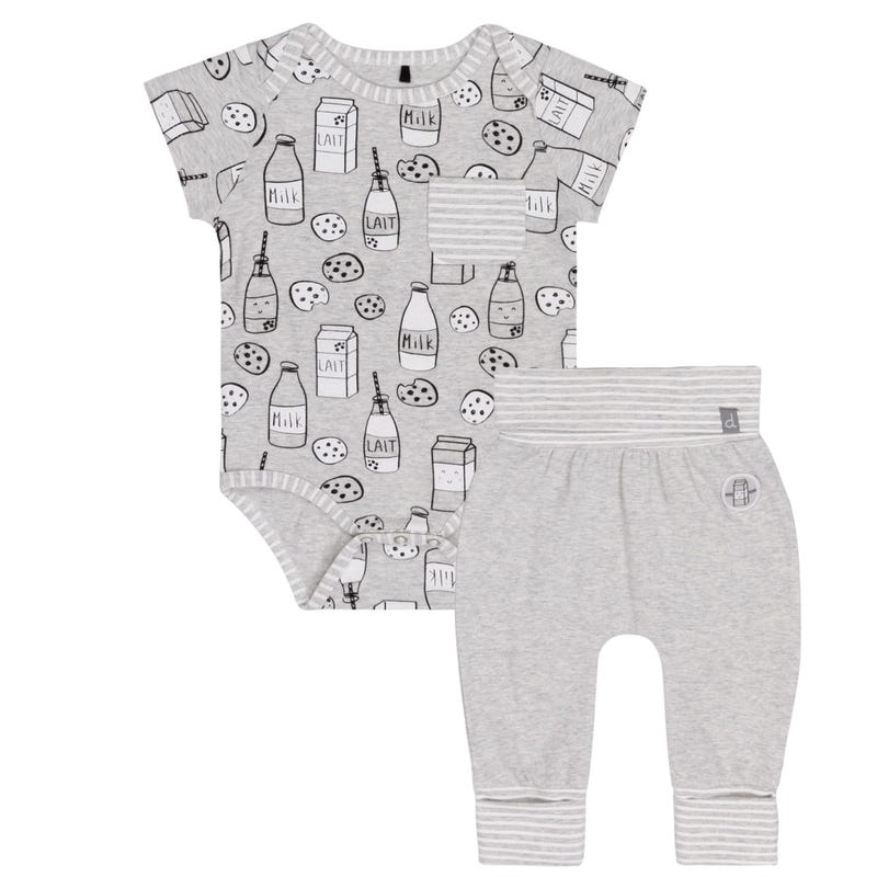 Milky Tummy Pant Set 12-24m