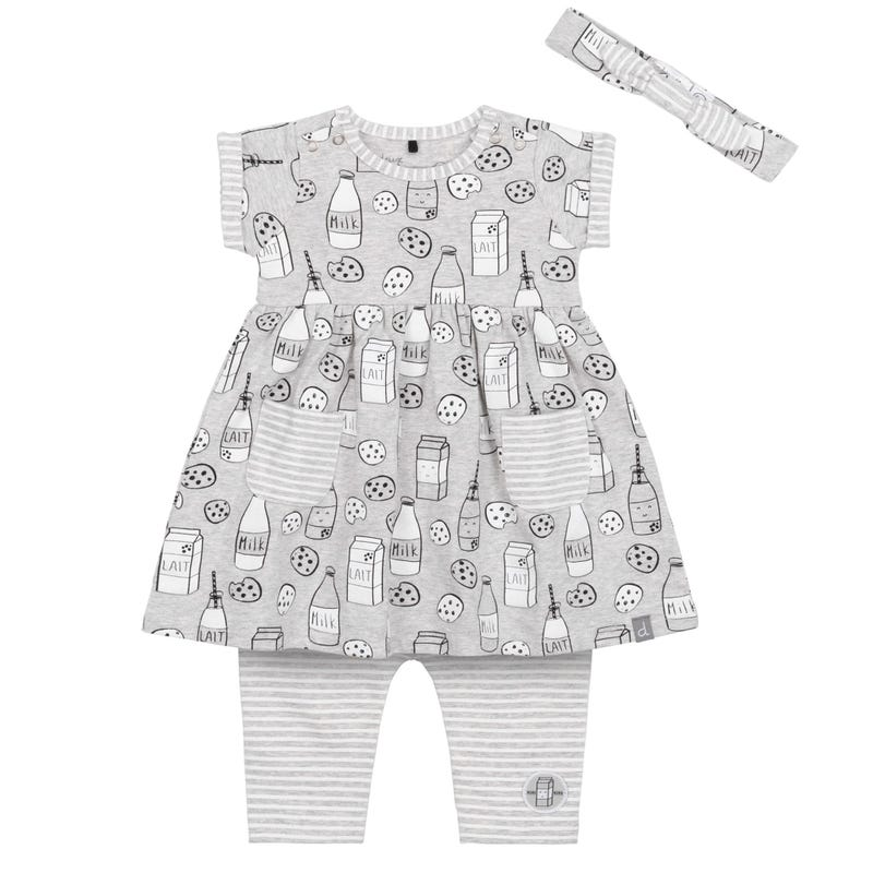 Ensemble Robe Lait 12-24m