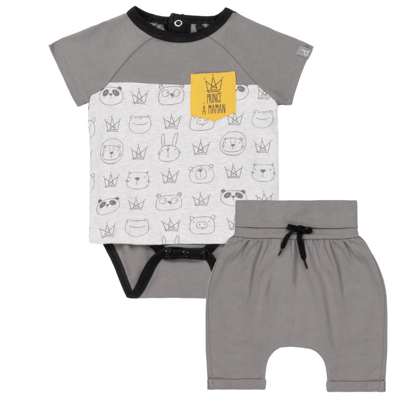Ensemble Short Prince 6-24m