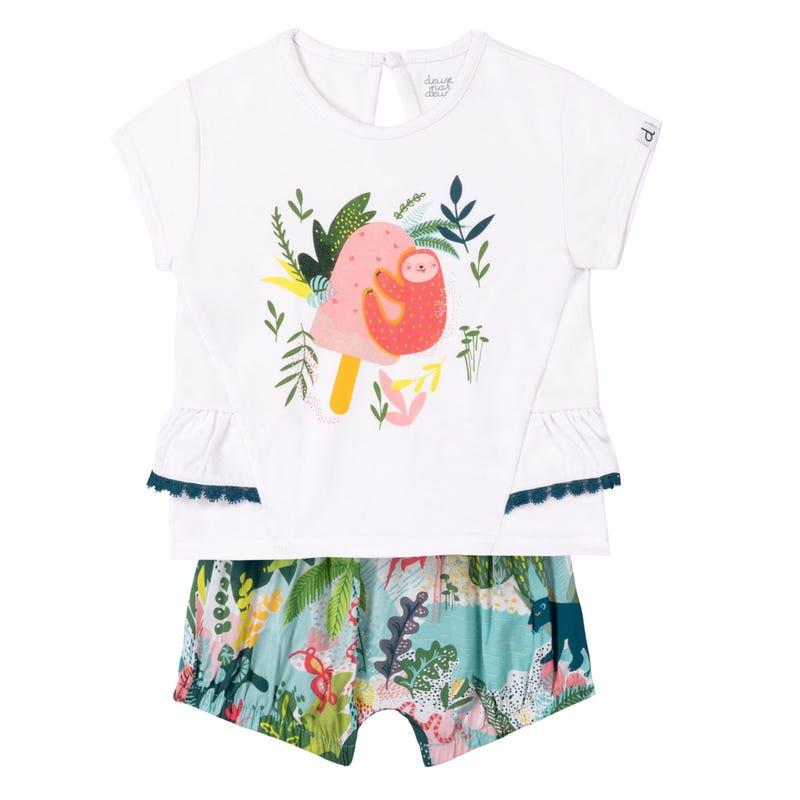 Jungle Short Set 12-24m