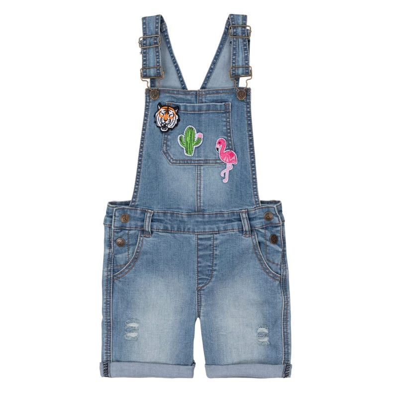 Jungle Denim Shortall 3-6