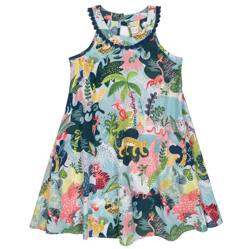 Robe Dentelle Jungle 7-10
