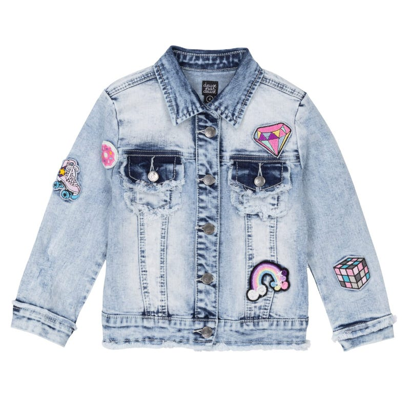 Veste Denim Patins 7-10