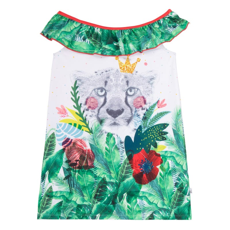Jungle Beach Dress 7-12