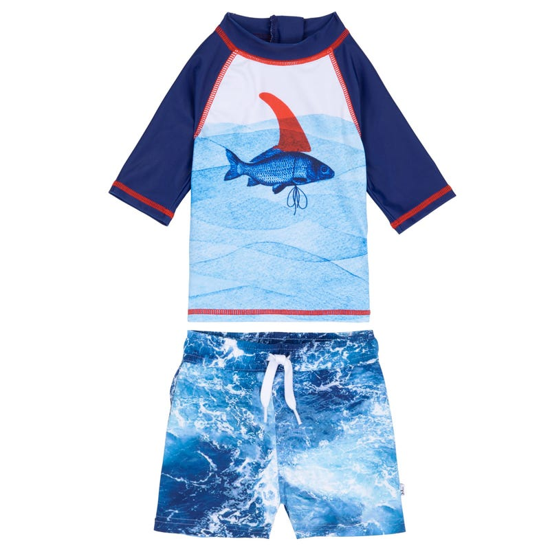 Fish 2 Pieces UV Rashguard Set 3-24m