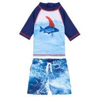 T-Shirt Maillot UV Poisson 3-24m