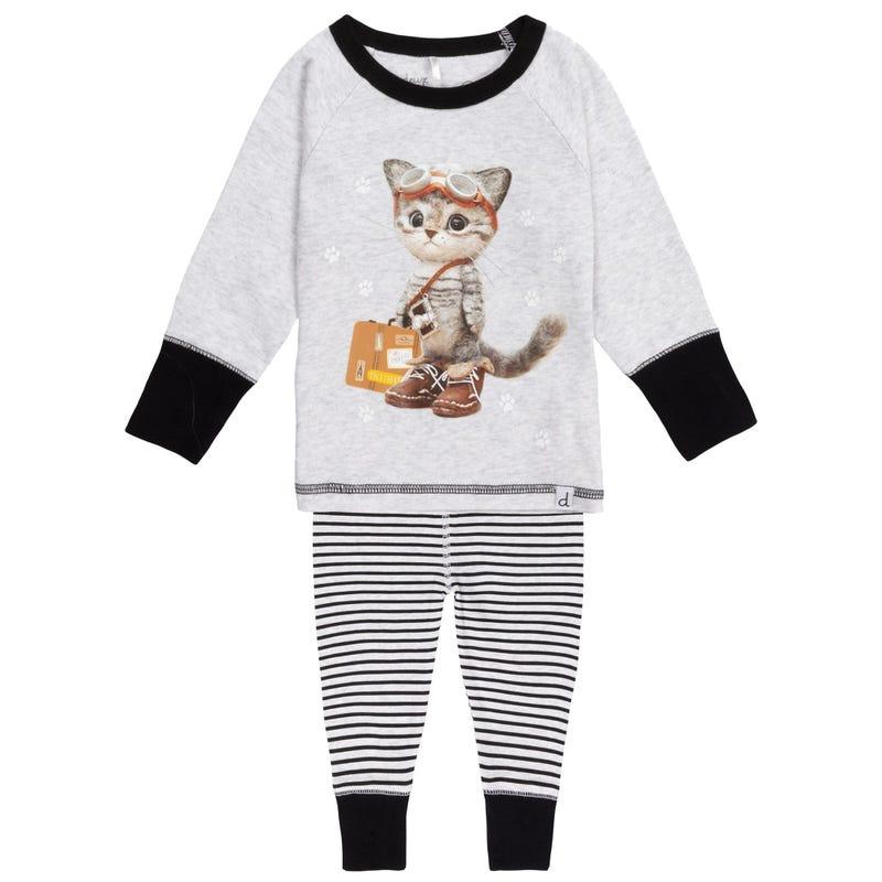 Pyjama Chat Voyageur 12-24m