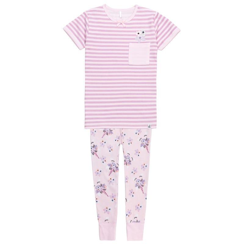Flowers Pajamas 7-10